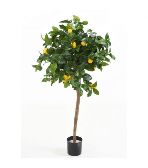 Plante artificielle Citronnier  Hauteur 120 cm