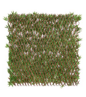 Brise vue Treillis Extensible  imitation Bambou 1 x 2 m TF11