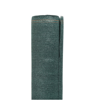 Brise vue toile vert foncé 150 cm  X 500 cm 240g/m²