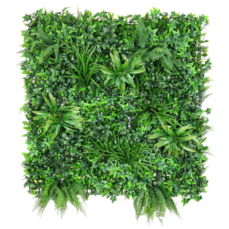 Mur Végétal Artificiel Mixte 1m x 1m