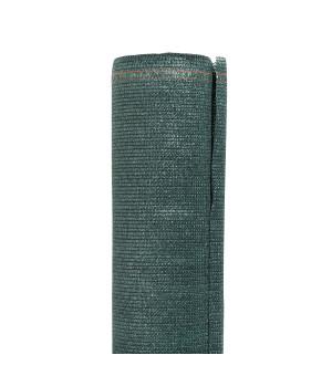 Brise vue toile vert foncé 120 cm X 1000 cm 240g/m²