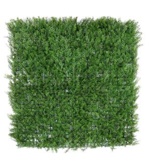 Feuillage Artificiel Imitation Cyprès Vert 1 M x 1 M