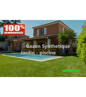 Pack Echantillons 6 Gazons synthétiques JARDIN-PISCINE